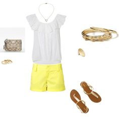 Summer, created by martha-stutts on Polyvore