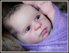 Beautiful PROTOTYPE Reborn Baby Boy Doll ~ Kirk ~  Sam's Reborn Nursery ~ #Reborn