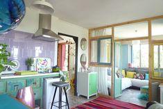 Un appartement espagnol aux couleurs de l'arc-en-ciel - PLANETE DECO a homes world