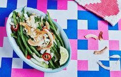 Toasted Coconut Green Beans Hemsley And Hemsley, Toasted Coconut, Allrecipes, Green Beans, Sugar Free, Side Dishes, Cabbage, Gluten, Healthy Recipes