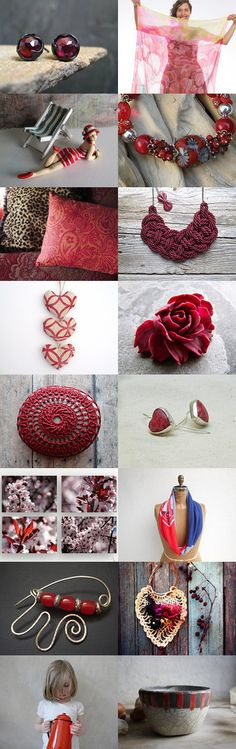 The color red makes me smile by Dorothy Walker on Etsy--Pinned+with+TreasuryPin.com