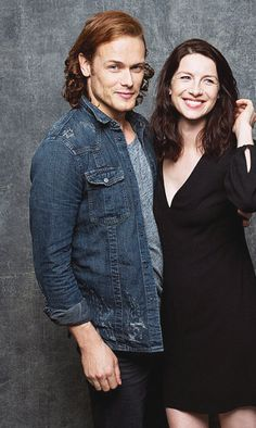 New picture of Sam and Cait - Comic Con 2015