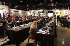 2013 IMF attendees listening to keynote delivered by Joe Pulizzi, founder of Content Marketing Institute. #2013IMF