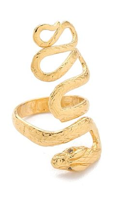 Jacquie Aiche Extra Long Snake Ring