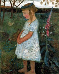 Paula Modersohn-Becker - Elsbeth im Garten