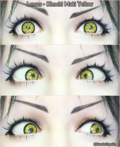 These lenses are definitely Halloween item. Be a werewolf or a vampire; Kimchi Maki yellow will never disappoint you. Buy here: http://www.uniqso.com/kimchi-maki-yellow
