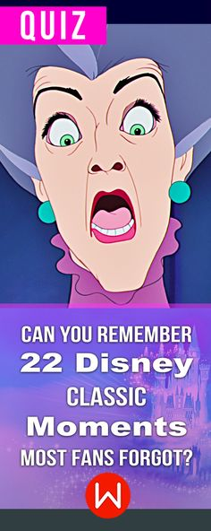 Disney fans only past here! You can't call yourself a REAL Disney fan if you forgot these precious moments. Disney special moments you need to see. Disney trivia, Disney Quiz. Fun Disney challenge.