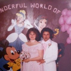 Mom and dad's prom photo.