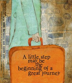 The first step is always the most important.