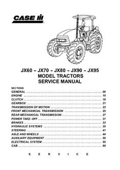 1587 Best Download Heavy Equipment Service Repair Manuals S On. Case Ih Jx60 Tractor Service Manual. Wiring. 3294 Case Ih Wiring Schematic At Scoala.co