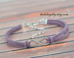 Infinity braceletBridesmaid giftssilver tone by HolidayDIY on Etsy, $0.20