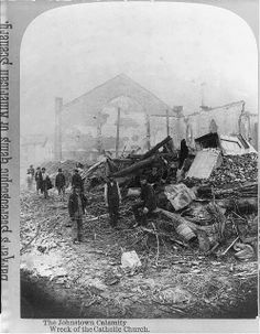 the johnstown flood painting   Who flooded Johnstown PA? - Pennsylvania - City Profile Forum