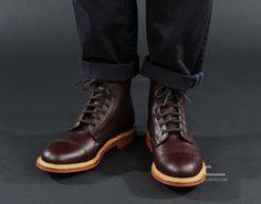 Mark McNairy Toe Cap Boot (8906TGD) - Caliroots.com