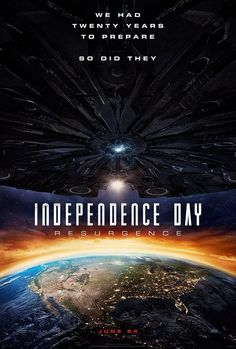 Directed by Roland Emmerich. With Liam Hemsworth, Jeff Goldblum, Bill Pullman, Maika Monroe. Two decades after the first Independence Day invasion, Earth is faced with a new extra-Solar threat. But will mankind's new space defenses be enough? All Movies, Latest Movies, Movies To Watch, Movies Online, Movies And Tv Shows, Movie Tv, 2016 Movies, Movies Free, Action Movies