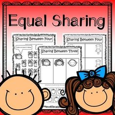 Equal Sharing Worksheets Helps students solve first division problems