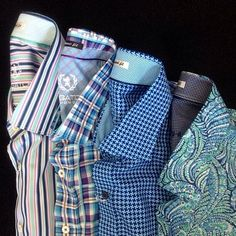 We have some great patterns of @bugatchi button downs! (at By Request for MEN )