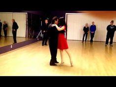 Argentine Tango steps Review Dance www.tangonation.com 12/22/2015 - YouTube