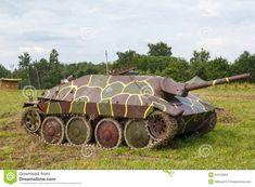 German Self-propelled Gun Hetzer Stock Photo - Image of caterpillar, steel: 34479364