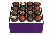 Dark Chocolate Truffle Collection, 16 pieces