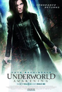 Underworld: Awakening (2012), Screen Gems, Lakeshore Entertainment, and Saturn Films with Kate Beckinsale, India Eisley, and Michael Ealy. What's not to like about Kate as Selene in an Underworld movie. Love it!