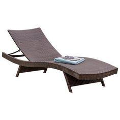 Home Loft Concept Kauai Chaise Lounge  sc 1 st  Pinterest : allen roth chaise lounge - Sectionals, Sofas & Couches