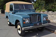 """Land Rover Series 3 88"""" Softop 2 Owners and 58,000 Miles For Sale (1982)"""