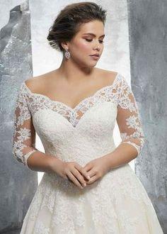 Tulle Wedding, Bridal Wedding Dresses, Wedding Dress Styles, Wedding Cakes, Wedding Rings, Lace Weddings, Modest Wedding, Beige Wedding, Curvy Wedding Dresses