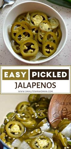 Slightly sweet Pickled Jalapenos made with only 7 ingredients in about 15 minutes! These tasty bites are perfect for snacking, sandwiches, burgers, and adding to recipes. Learn how to preserve jalapenos with this recipe! Pickled Jalapeno Recipe, Pickled Jalapeno Peppers, Jalapeno Recipes, Pickling Jalapenos, Stuffed Jalapeno Peppers, Recipes With Jalapenos, Bacon Recipes, Mexican Food Recipes, Healthy Recipes