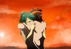Endou x Kazemaru part 4 Nathan Swift, Inazuma Eleven Go, Manga, Anime, Comic Strips, Chibi, Kawaii, Fan Art, Comics