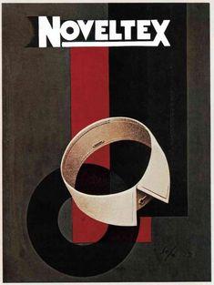 Sepo (Severo Pozzati, 1895-1983) – Affiche Noveltex (1928)