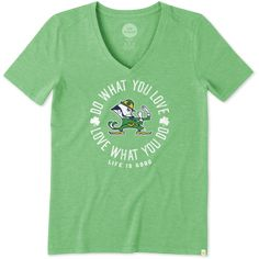 Collegiate Collection Women's Notre Dame Do What You Love Cool Vee | Life is…
