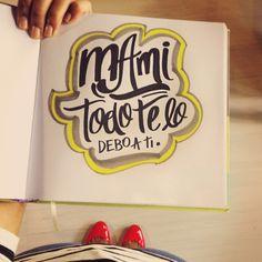 For my Mom. #lettering #letteringdaily #batman #handdrawn #handlettering #sharpie #type #doodle