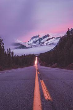 Out the Front Window — banshy:  Banff National Park by: Jordan Herschel