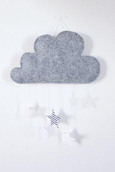 Suspension nuage décorative pour chambre d'enfant