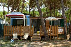 Stacaravan Exclusive Selectcamp - Te vinden in Italië en Kroatië