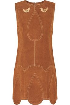 Anna Sui Suede mini dress | THE OUTNET £350 Original price £875 60% off