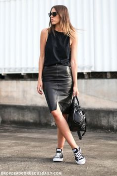 Wardrobe Must-Have: The Black Pencil Skirt