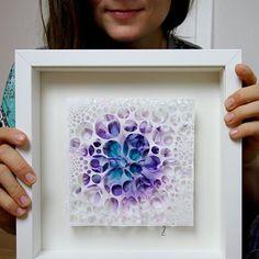 Art by Zuzana Borysek 🐸🐸🐸🐸🐸 ( Alcohol Ink Painting, Alcohol Ink Art, Bubble Art, Bubble Painting, Painting Canvas, Origami Paper Art, Diy Arts And Crafts, Mandala, Resin Art