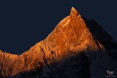 Masherbrum (7.821 m) is the highest peak of the Masherbrum Mountains, a subrange of the Karakoram range, Pakistan. Photo © Mobeen Mazhar's Photography - Website: www.mobeenmazhar.com