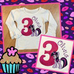My daughter's birthday shirt!