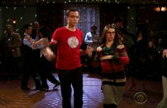 """His dance moves. 
