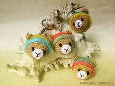 Amigurumi Teddy Bear Keychain Free Pattern