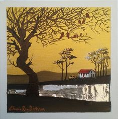 """Buy FREE COURIER --- """"KAROO LIFE"""" Original Painting by KAROO Artist, Cherie Roe Dirksen 200x200x20for R400.00 Original Artwork, Original Paintings, Dangerous Love, South African Artists, Tree Silhouette, Art Series, Kinds Of Music, Art Auction, All Art"""