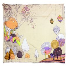 Alternative Easter gift? Beautiful Tree of Life scarf