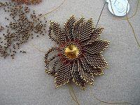 Pérégrinations de perles: kim flower