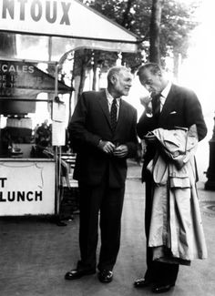 Ernest Hemingway & Gary Cooper