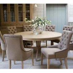 Fancy Round Dining Room Tables