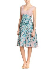 Spotted this Lela Rose Silk-Lined A-Line Dress on Rue La La. Shop (quickly!).