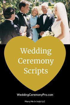 Simple Wedding Ceremony Script, Non Religious Wedding Ceremony, Wedding Vows Examples, Wedding Officiant Script, Christian Wedding Ceremony, Wedding Script, Unity Ceremony, Civil Wedding, Wedding Ideas