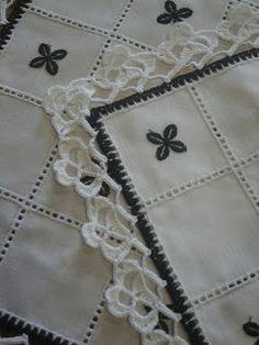 Artesanato - Arte em Croché: jogo de pano em croché